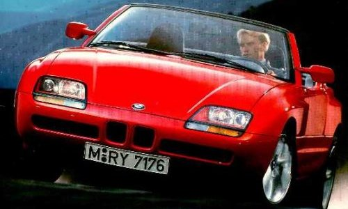 the supercar 1986 bmw z1. Black Bedroom Furniture Sets. Home Design Ideas